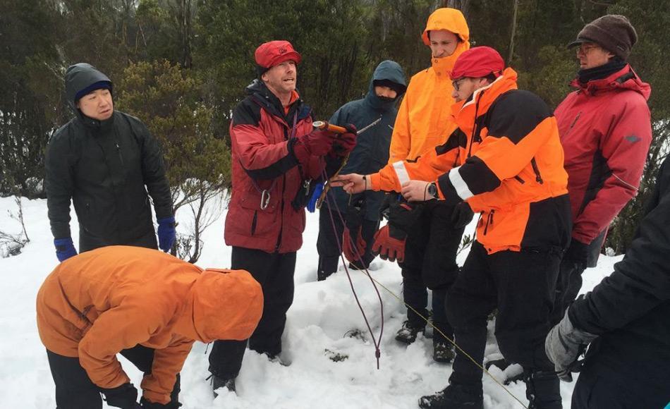 Die AAD gewichtet ein adäquates Training für seine Mediziner als sehr hoch und wichtig für sein Antarktisprogramm, auch neben den medizinischen Fahigkeiten. Bild: AAD